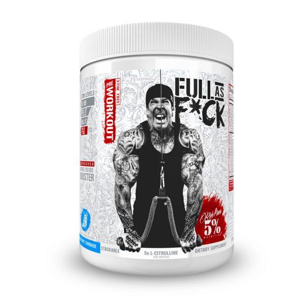 5% Nutrition Full as Fuck Blueberry Lemonade