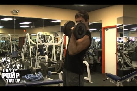 Dumbbell Bicep Curl End