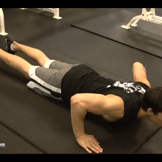Push Up End