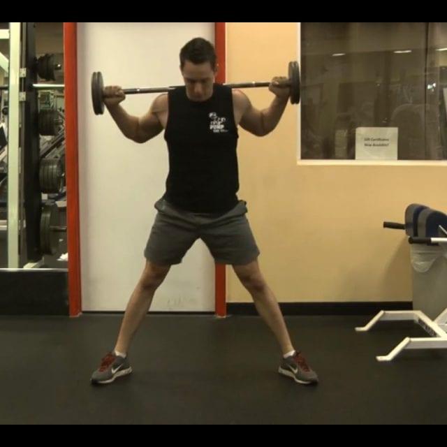 Side Split Squat Start