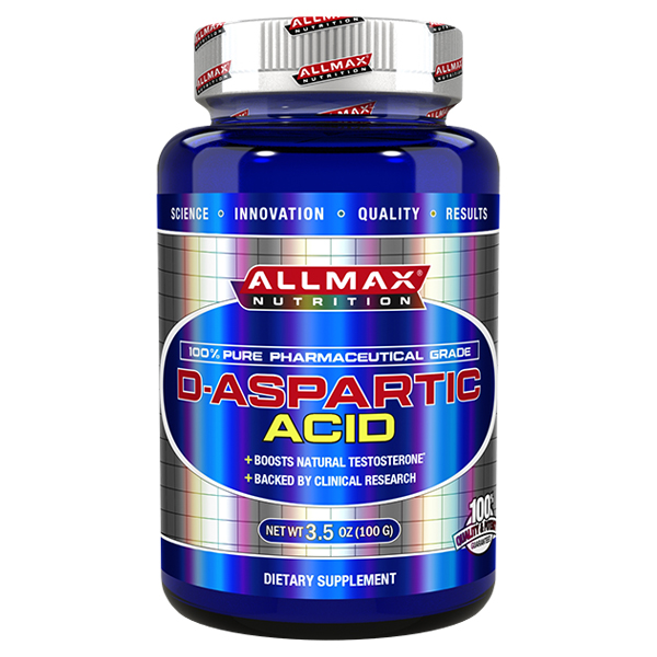 Allmax Nutrition D Aspartic Acid