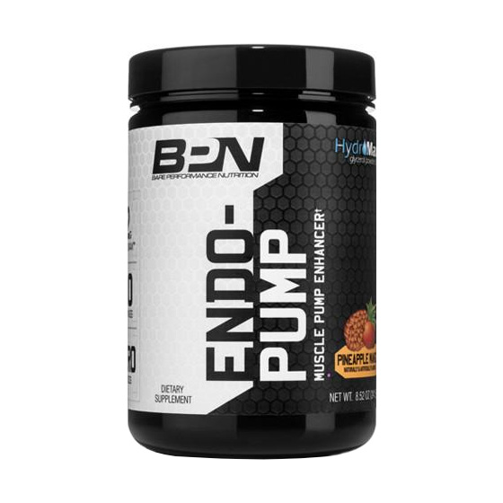 bare performance nutrition endo pump
