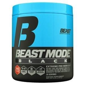 beast sports nutrition beast mode black