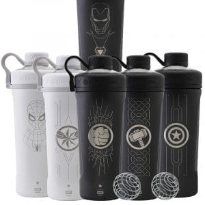 blender bottle marvel stainless steel