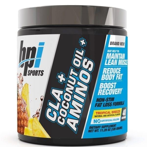 bpi sports cla coconut oil aminos