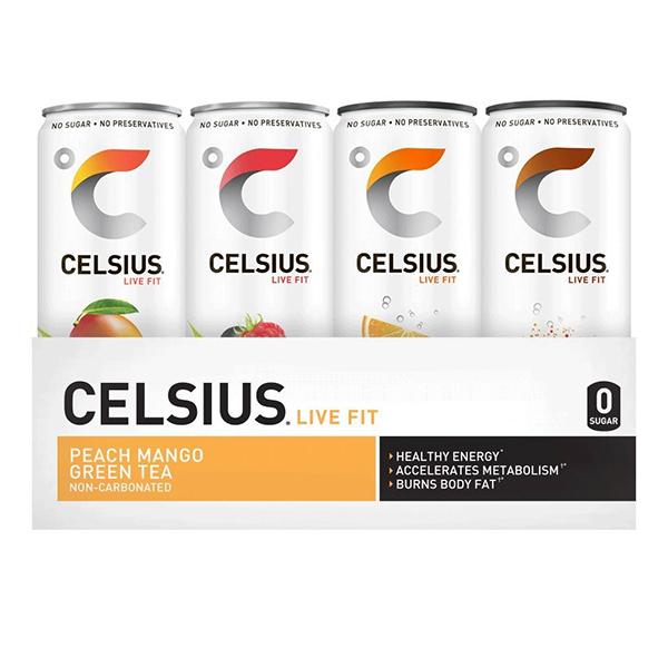 celsius energy drink 12 pack