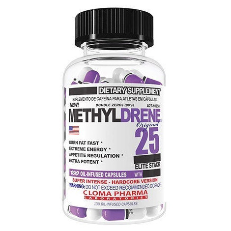 cloma pharma methyldrene 25 elite
