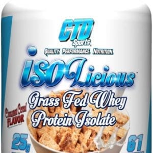 ctd sports isolicious whey protein isolate 4 pounds