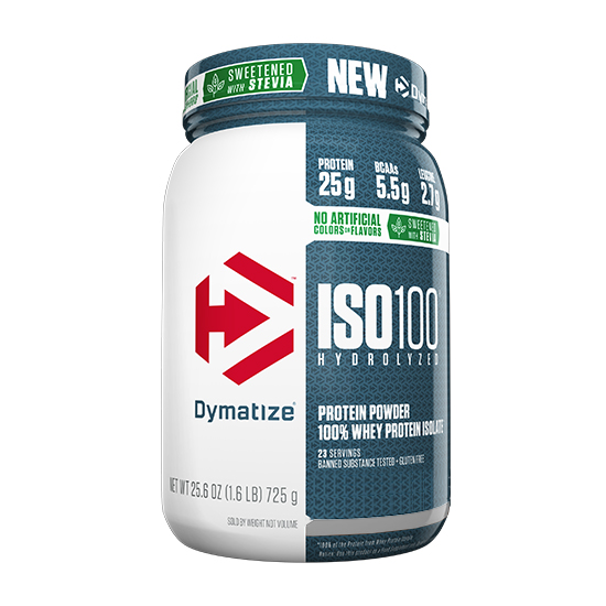 dymatize natural iso 100