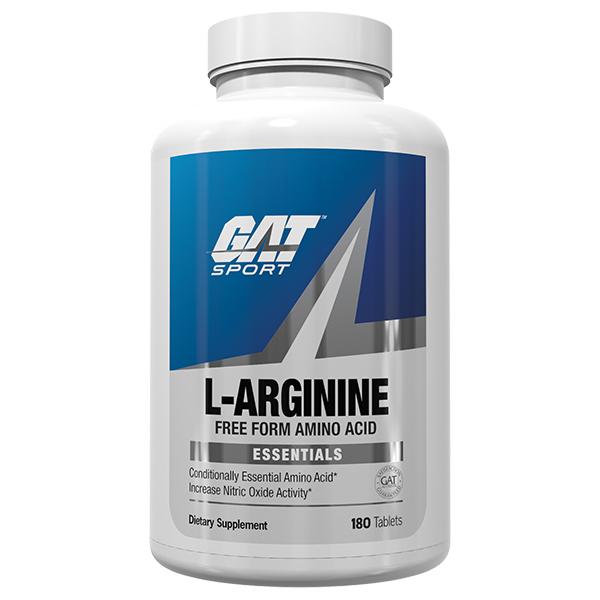 gat l-arginine 180 tablets