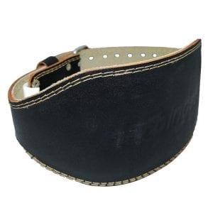 Harbinger 6 Inch Padded Leather Lifting Belt
