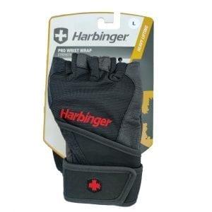 Harbinger Pro Wrist Wrap Strength Gloves