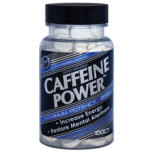 hi tech caffeine powder