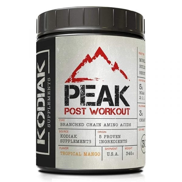 kodiak supplements peak