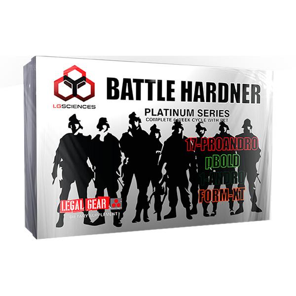 lg sciences battle hardener 3 bottle kit