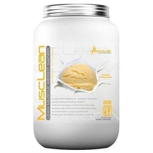 metabolic nutrition muscle lean