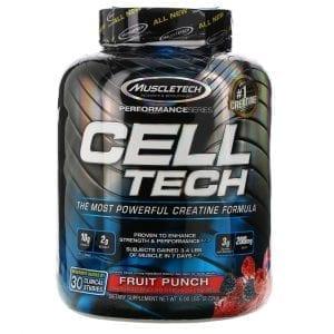 Muscletech Cell Tech Fruit Punch