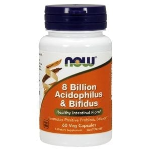 now 8 billion acidophilus and bifidus