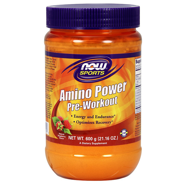 now amino power pre workout
