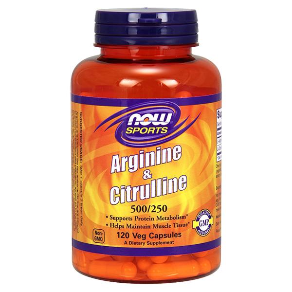 now arginine and citrulline