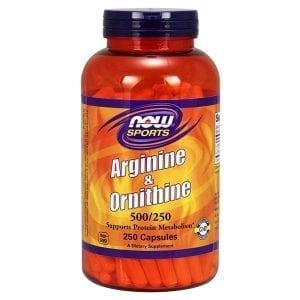 now arginine and ornithine