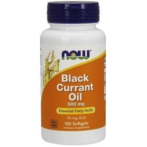 now black currant oil 100 softgels