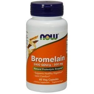 now bromelain 60 capsules