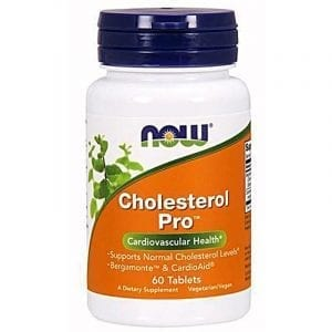 now cholesterol pro 60 tablets
