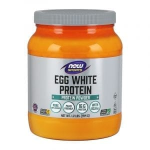 now egg white protein unflavored