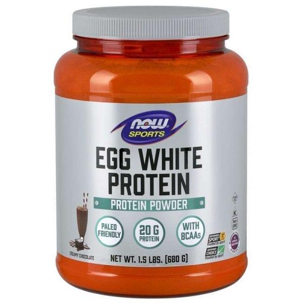 now egg white protein