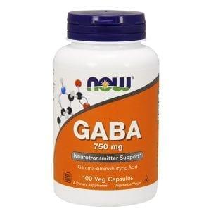 now gaba 750mg 100 vcaps