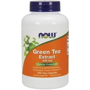 now green tea extract 250 caps