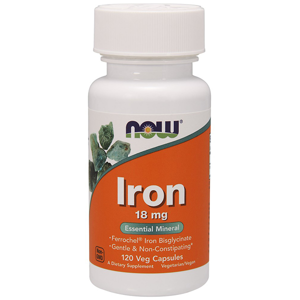 now iron 18mg