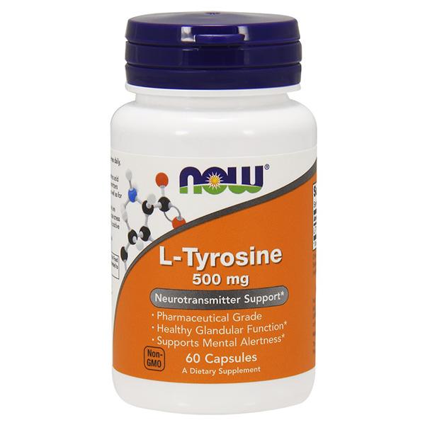 now l-tyrosine 500mg