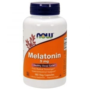 now melatonin 5mg 180 vcaps