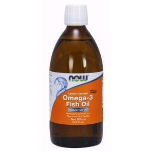 now omega 3 fish oil 16oz