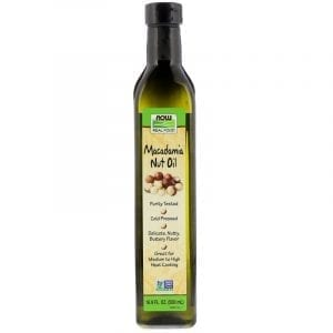 now organic macadamia oil
