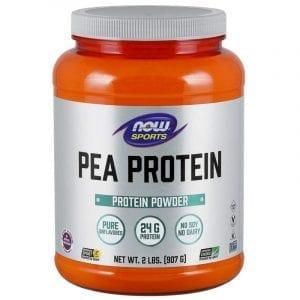now organic pea protein