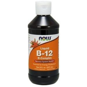 now vitamin b-12 complex liquid 8 oz