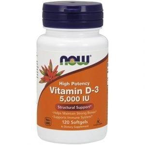 now vitamin d-3 5000 iu