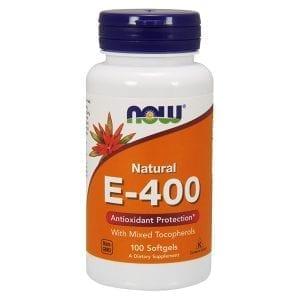 now vitamin e-400