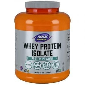 now whey protein isolate 5 pound