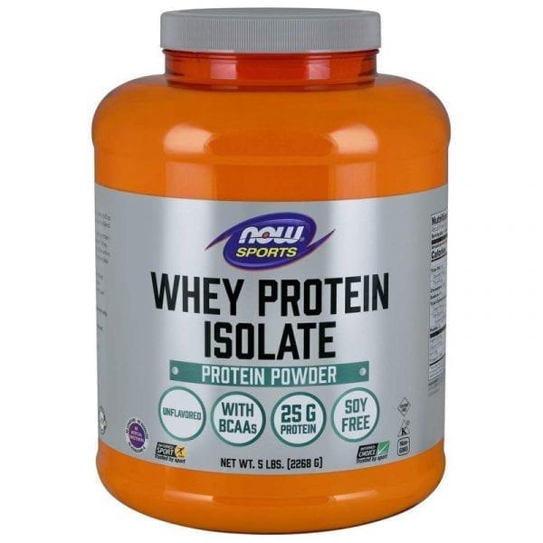 now whey protein isolate 5 pound