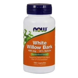 now white willow bark