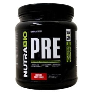nutrabio pre-workout