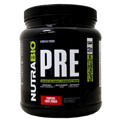 nutrabio pre-workout