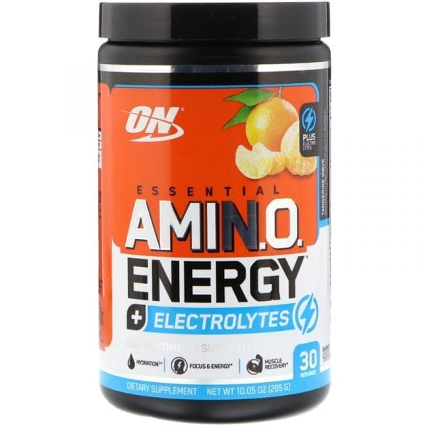 optimum nutrition amino energy plus electrolytes