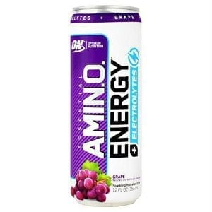 optimum nutrition amino energy plus electrolytes sparkling