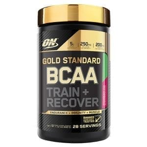 optimum nutrition bcaa train recover