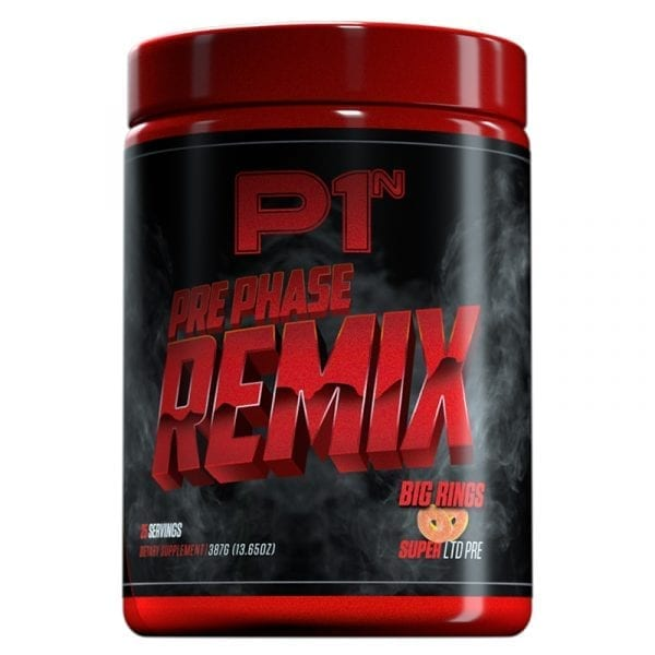 phase one nutrition prephase remix